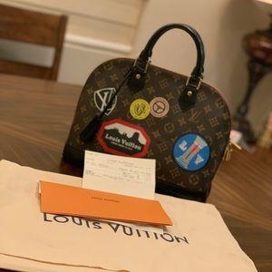 Louis Vuitton Monogram Canvas Alma PM Handbag